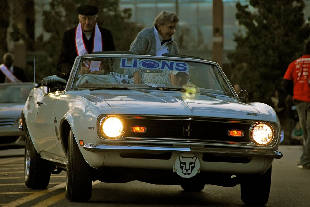 Penn State Homecoming; Lead Car