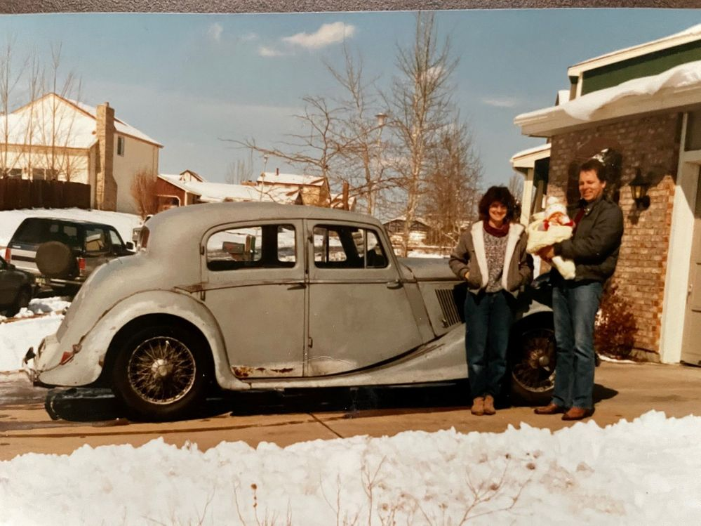 1985 and the Jag is now a part of our family
