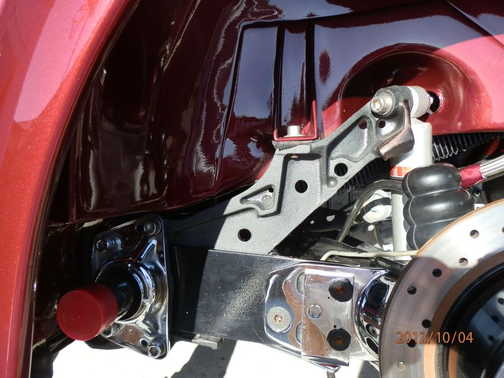 IRS Rear Suspension Mods w/Adjustable Spring Plates
