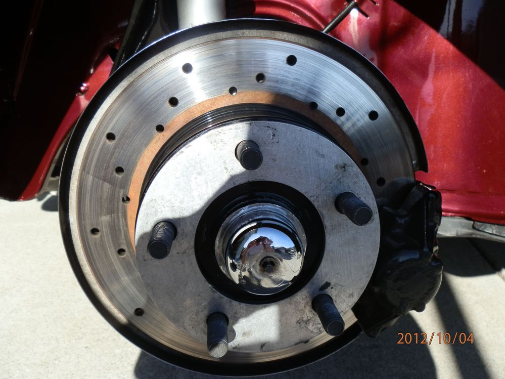Disc Brakes with Porsche 5-Lug Pattern
