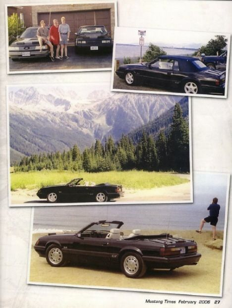 Mustang Magazine Article