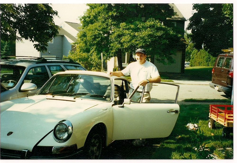 Picking up the car in Woodbury, NJ in about 1996...