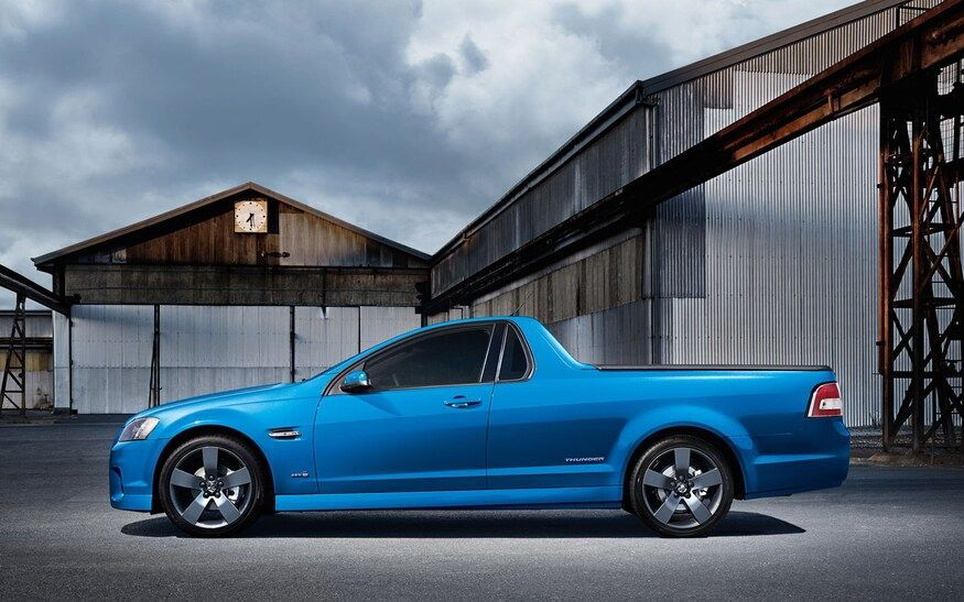 Holden Ute Thunder edition