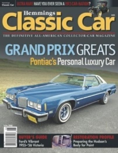 "Hemmings ""Classic Car"" Feature car June 2008"