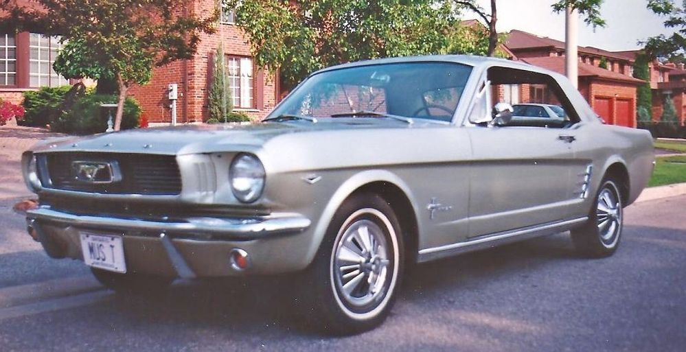 Recently Sold 1966 Mustang