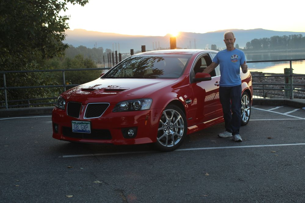 Pontiac G8 GXP - Sunrise Ride!