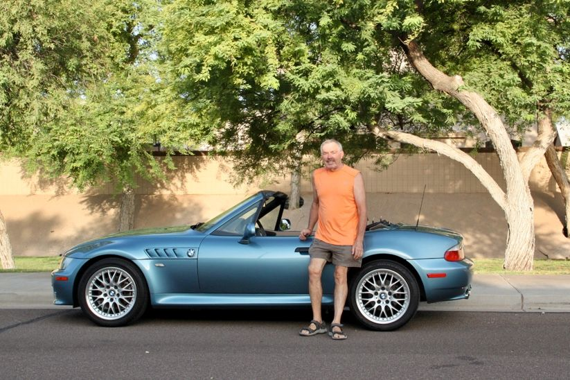 Fun drive at dawn.. 2002 BMW Z3 3.0i