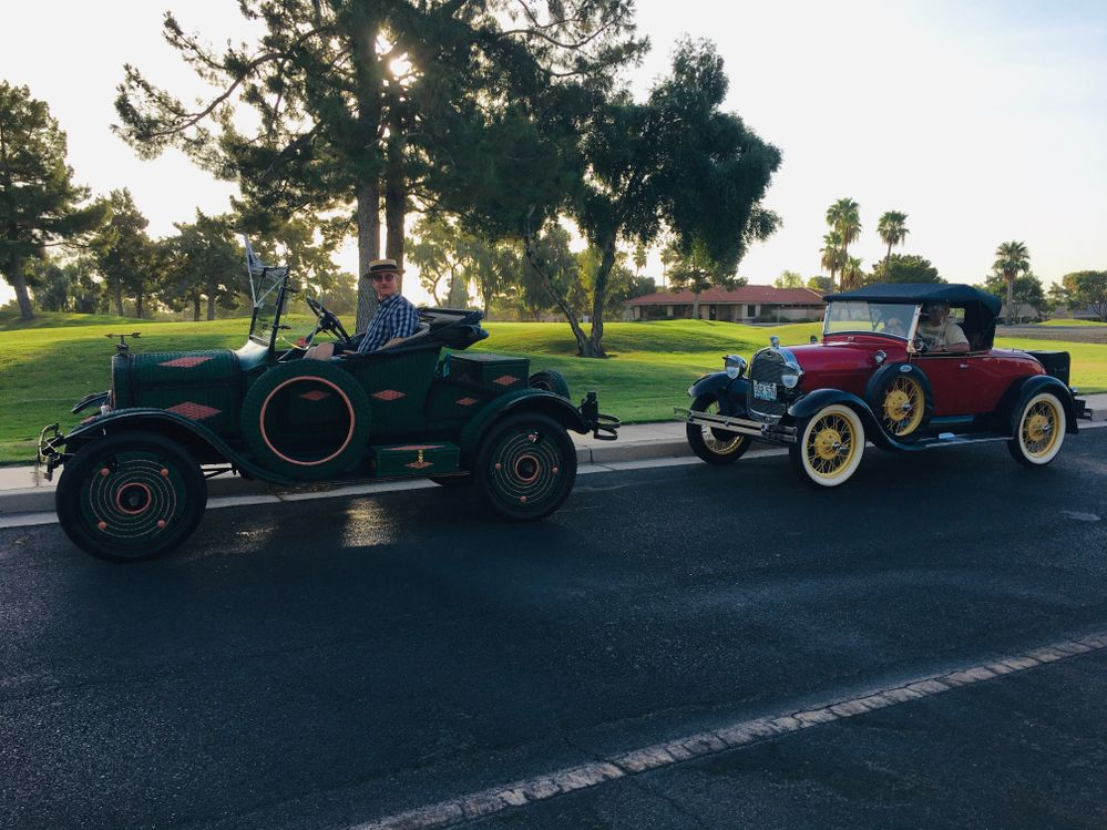 Sun City West Roadster Dawn Patrol